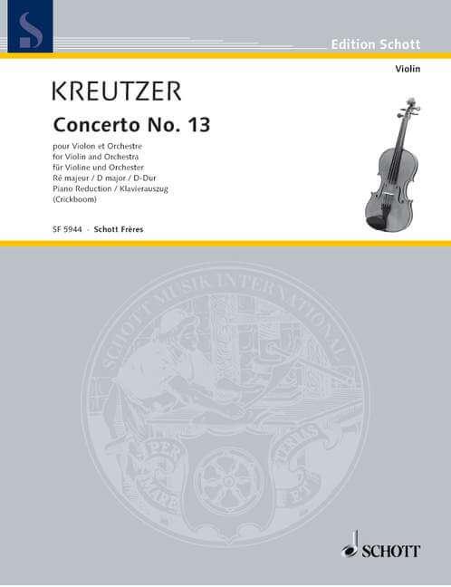 Concerto No. 13 D major.