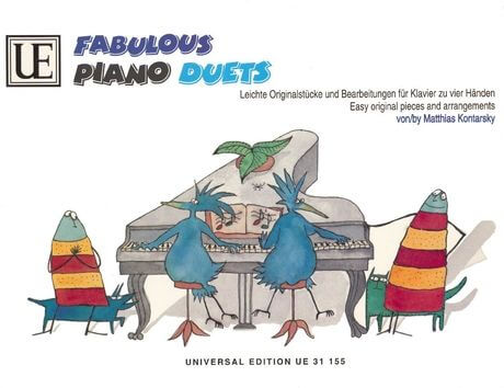 Fabulous Piano Duets for piano for 4 hands