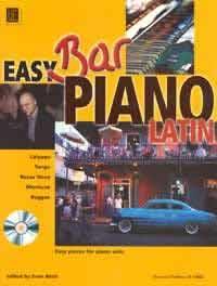 Easy Bar Piano - Latin with CD