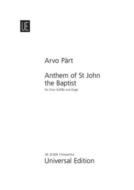 Anthem of St John the Baptist