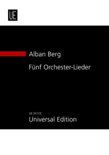 Fünf Orchesterlieder