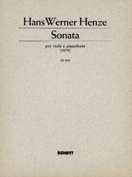Sonata. for viola and piano