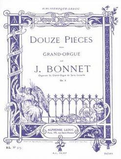 Douze pièces Op.5 Vol.1