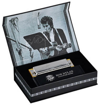 Armónica Hohner Signature C Bob Dylan
