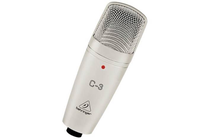 Micrófono Behringer C-3