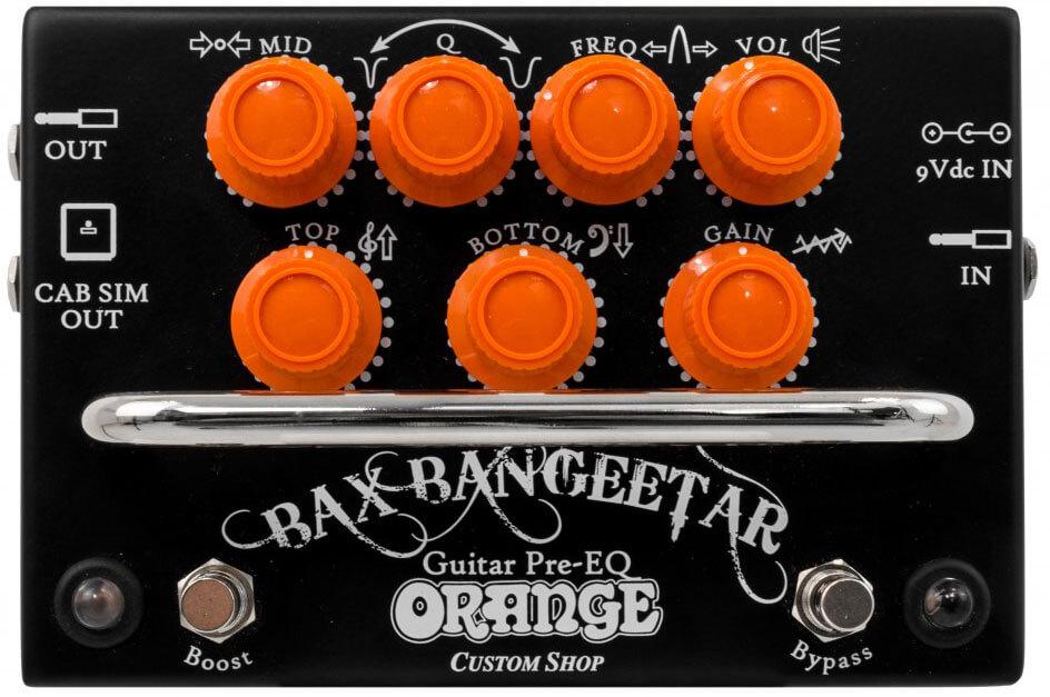 Pedal De Efecto Orange Bax Bangeetar Bk
