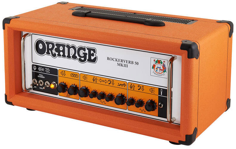 Amplificador Guitarra Orange Rockerverb 50H MkIII