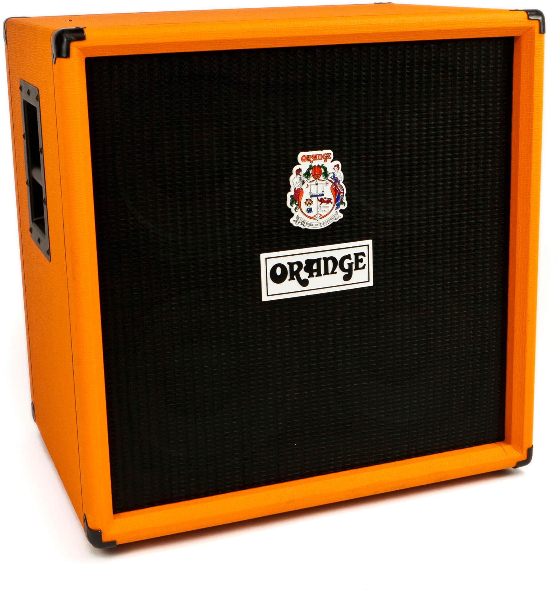 Caja Acústica Amplificador Bajo Eléctrico Orange Obc410