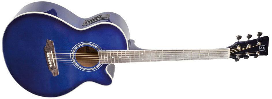 Guitarra Electroacústica Guitarra Electroacústica Oqan Qga-4