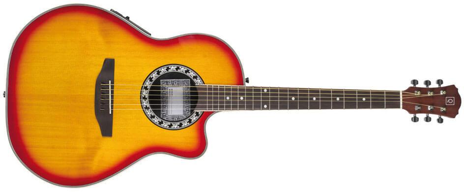 Guitarra Electroacústica Guitarra Electroacústica Oqan Qga-7