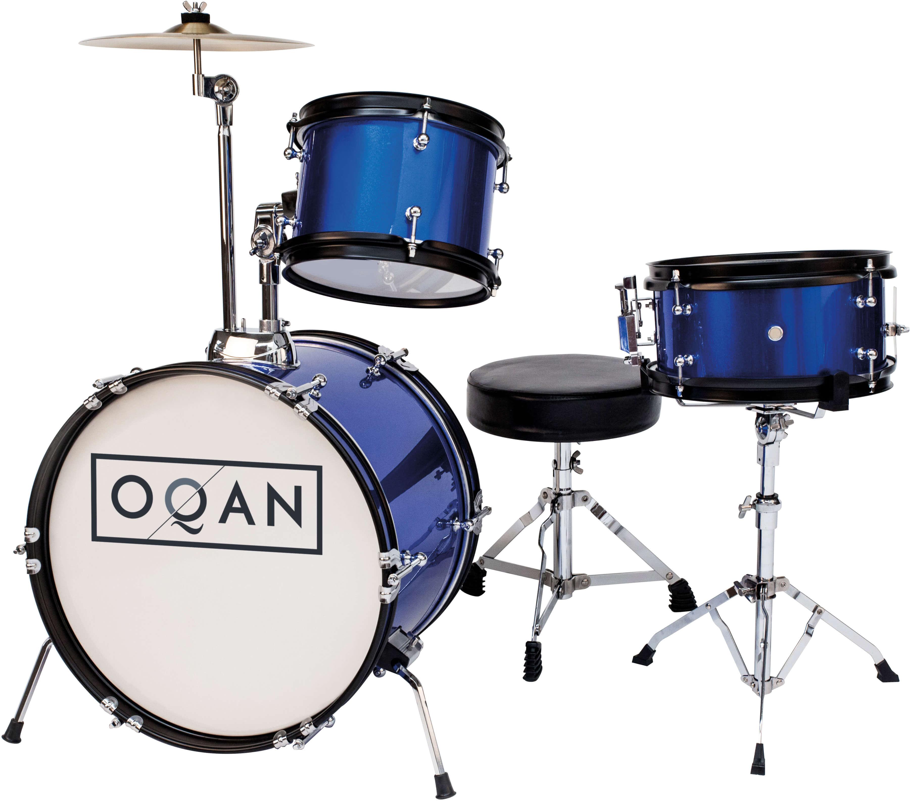 Batería Acústica Oqan Qpa-3 Infantil