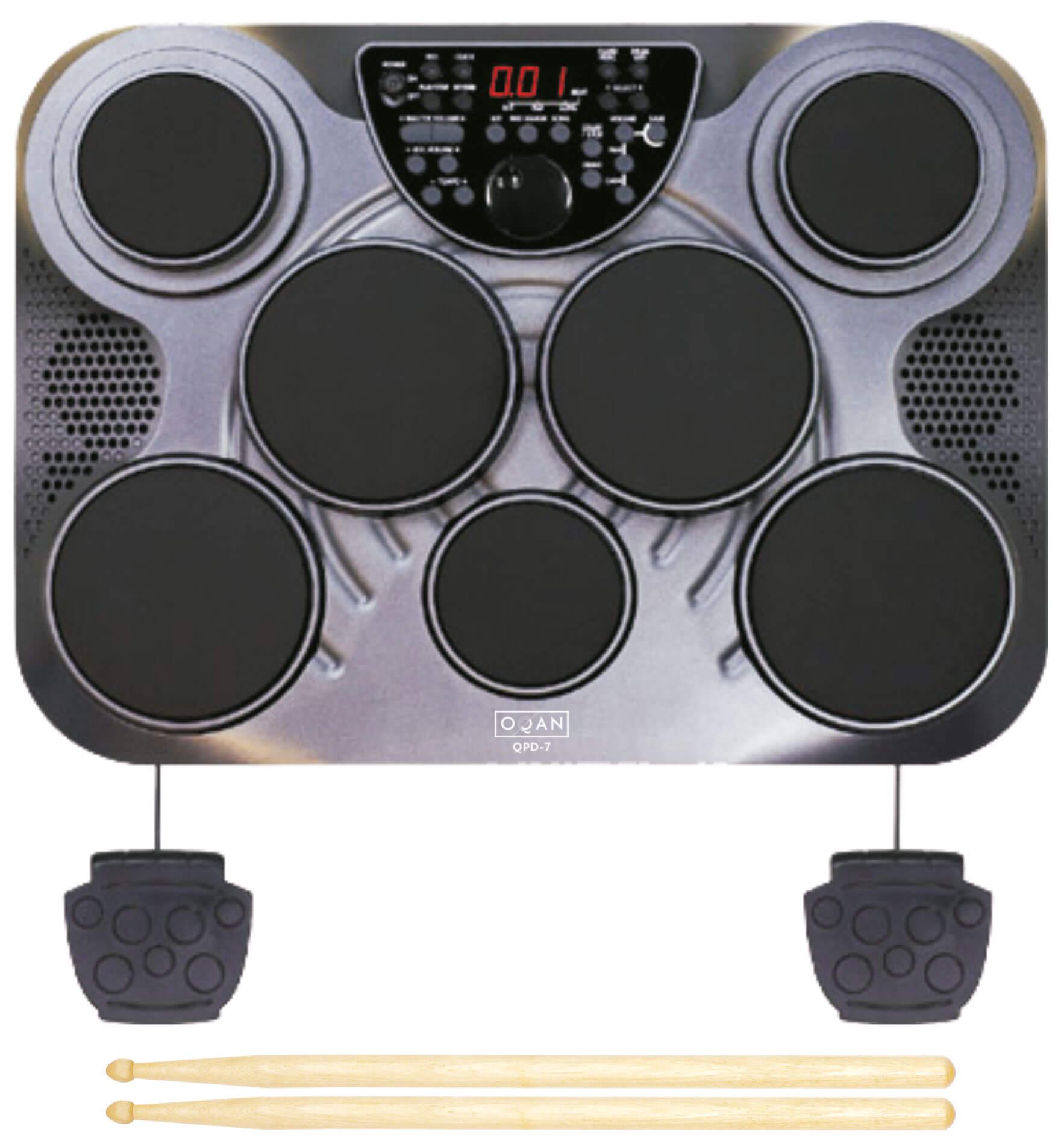 Batería Electrónica Oqan Qpd-7 Advanced Drum