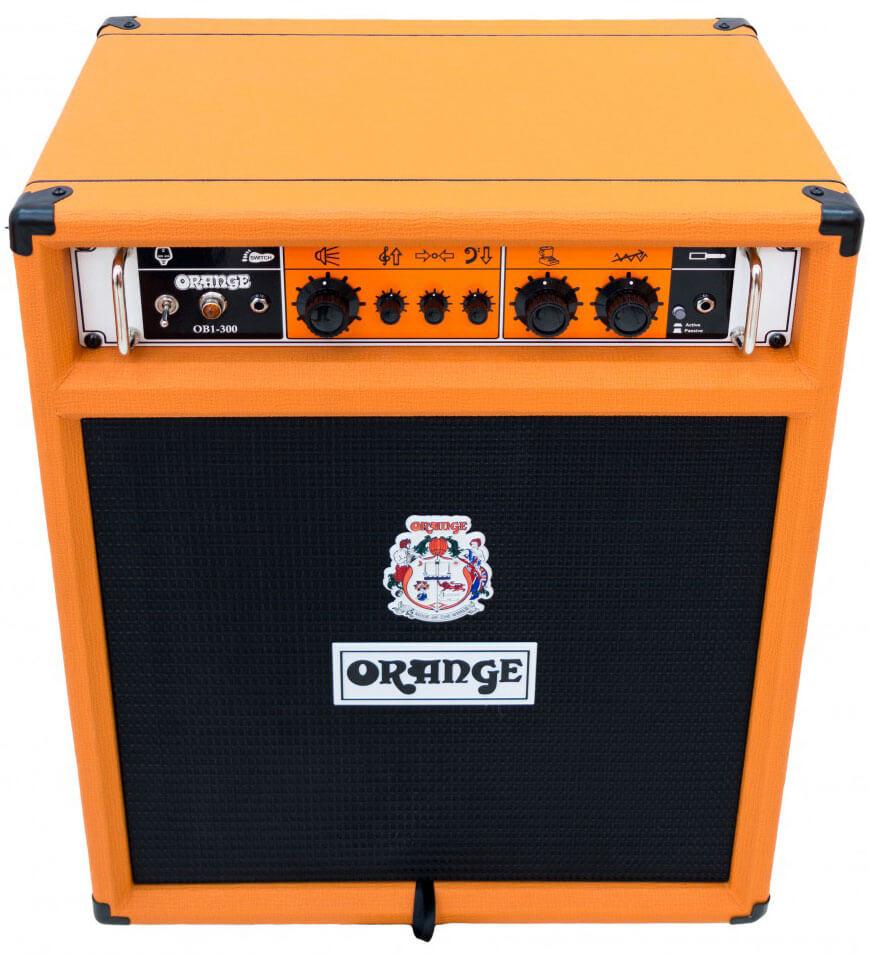 Amplificador Bajo Eléctrico Orange Ob1-300 Combo