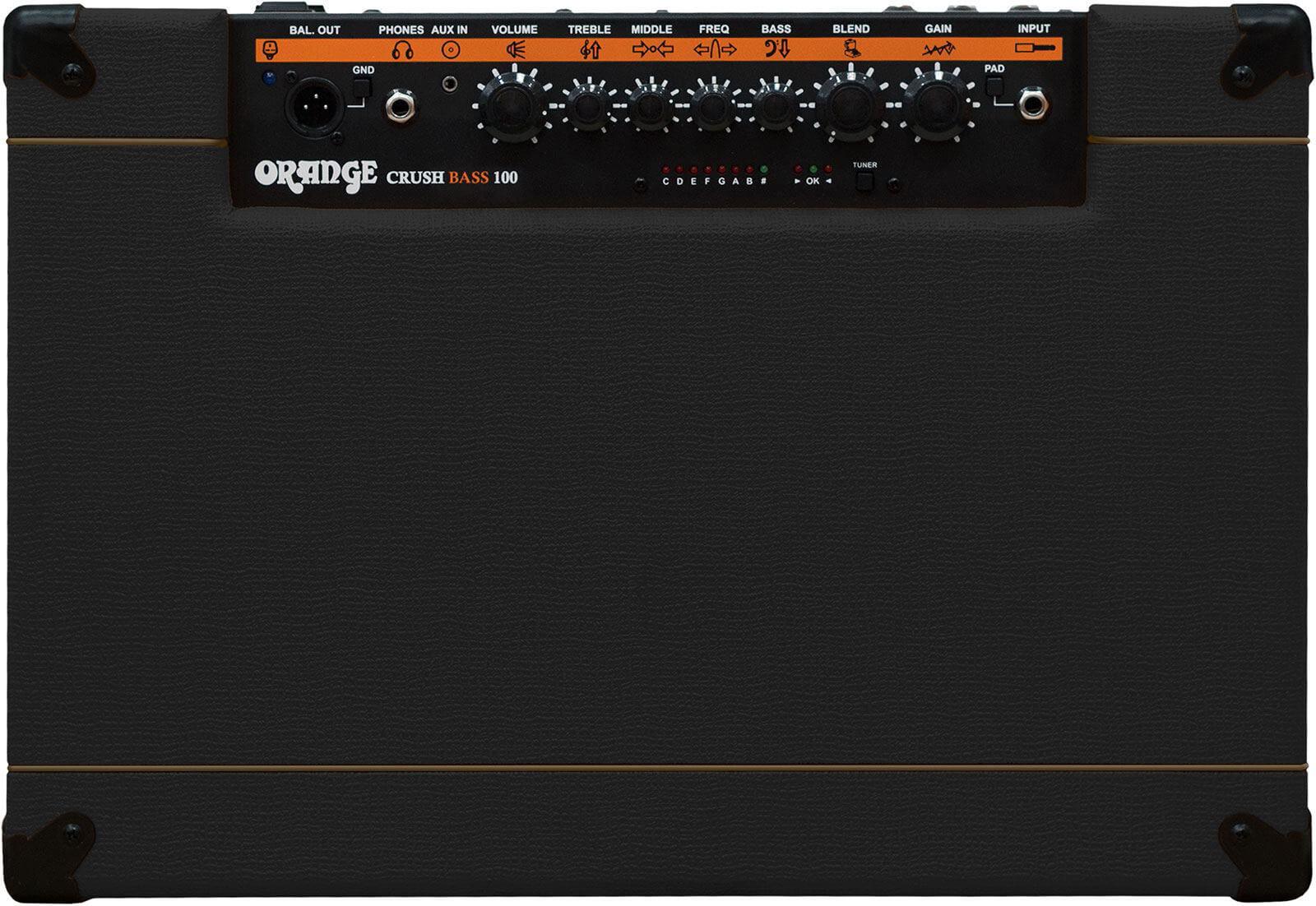 Amplificador Bajo Eléctrico Orange Crush Bass 100 Black