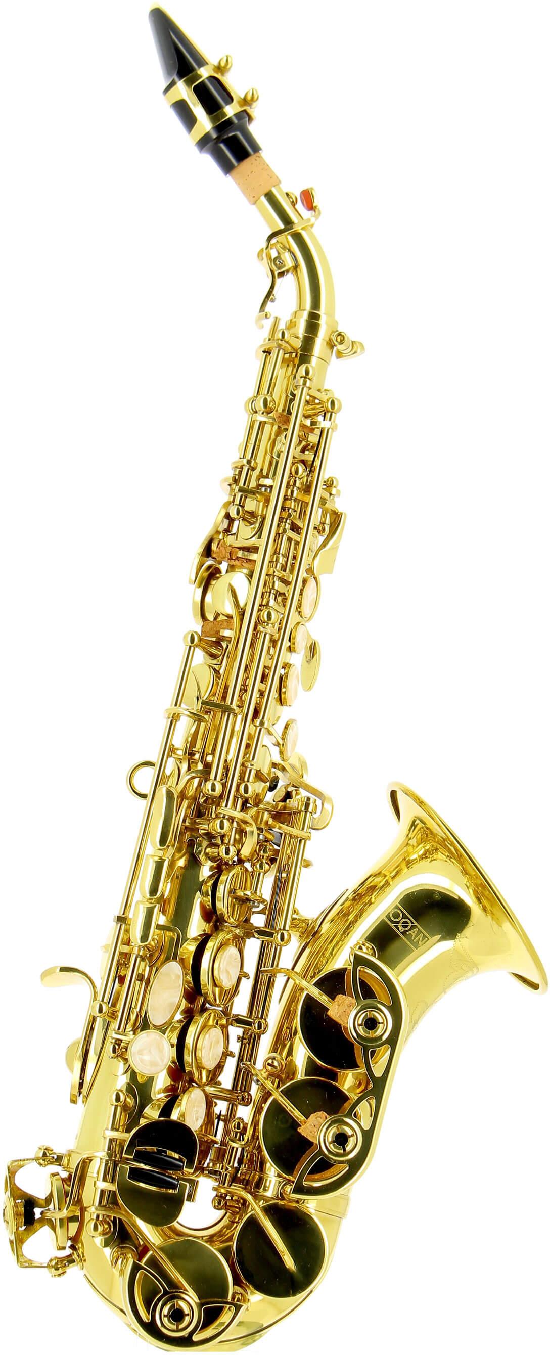 Saxofón Soprano Oqan Oss-620 Curvo
