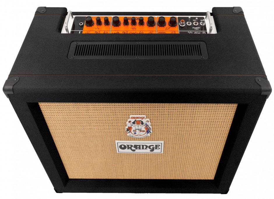 Amplificador Guitarra Orange Rockerverb 50C MkIII Blk