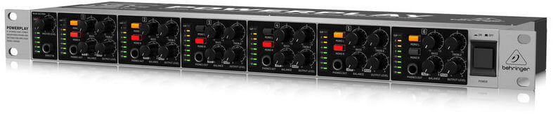 Amplificador Auricular Behringer Ha6000