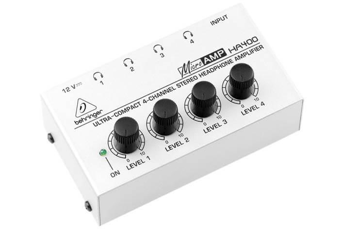 Amplificador Auricular Behringer Ha400-Eu