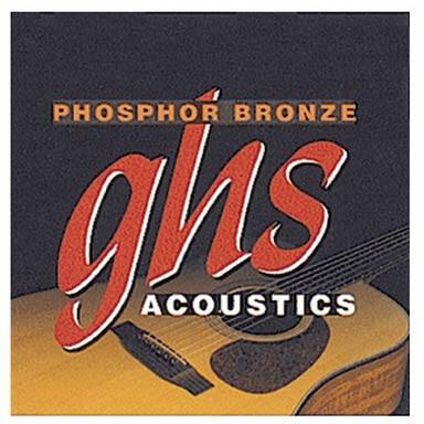 Jgo.Cuerdas Guitarra Acústica Ghs S-315 11-B50 Phosphor-Bron