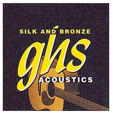 Jgo.Cuerdas Guitarra Acústica Ghs 370 11-Sb49 Silk And Bronz