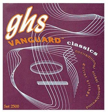 Jgo.Cuerdas Guitarra Clásica Ghs 2500 Vanguard Classics