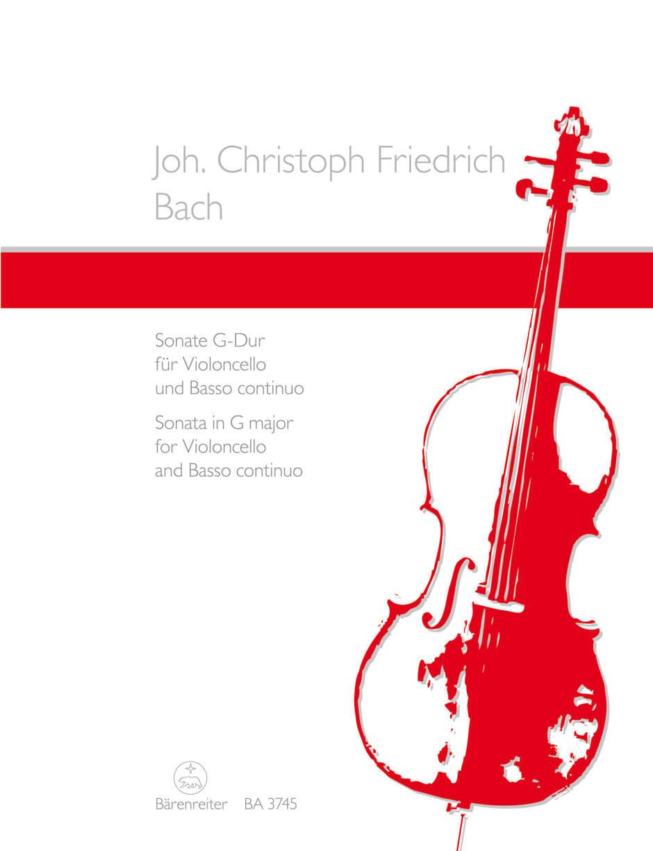 Sonata for Violoncello and Basso continuo G major  y partes