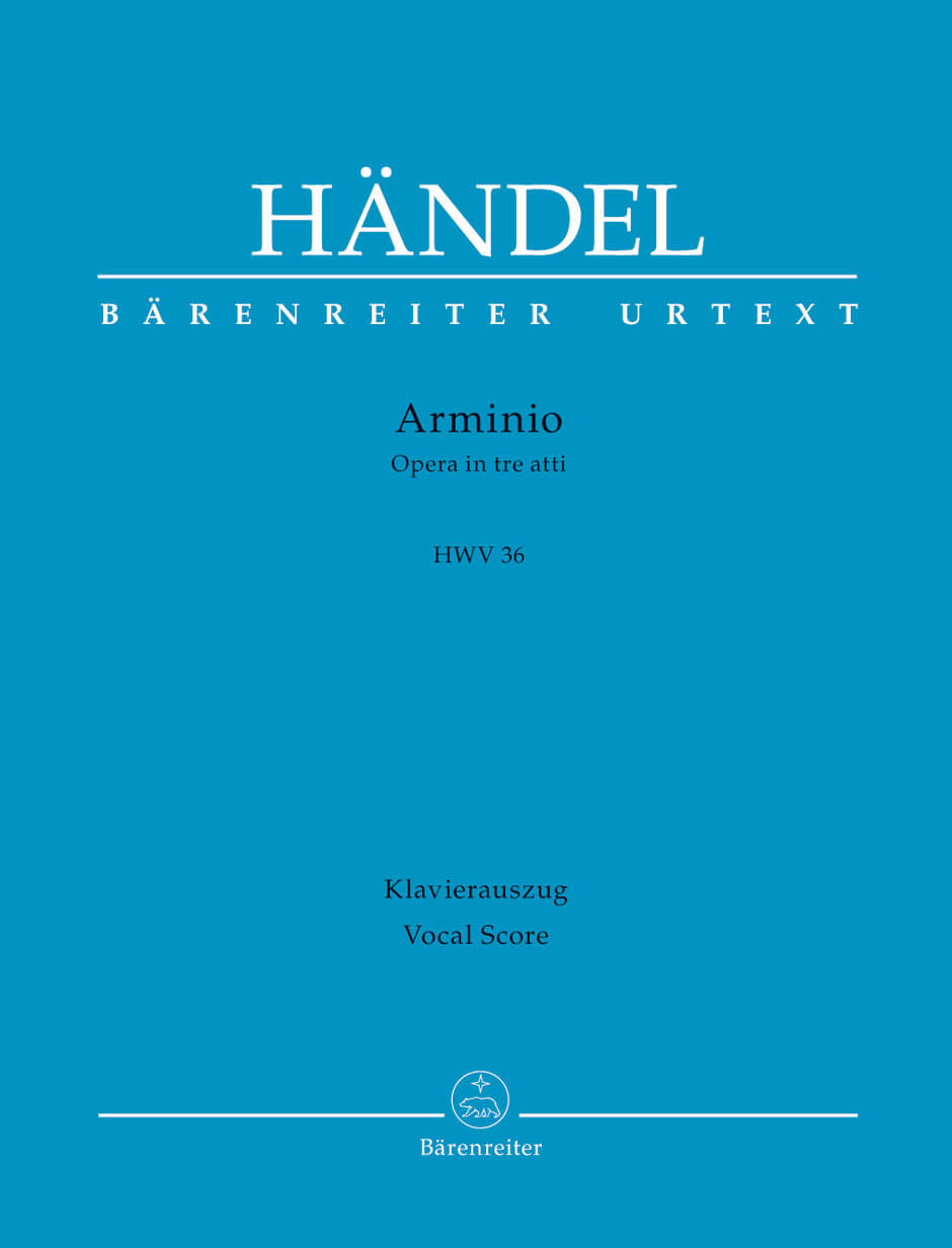 Arminio HWV36 -Opera in three acts-.