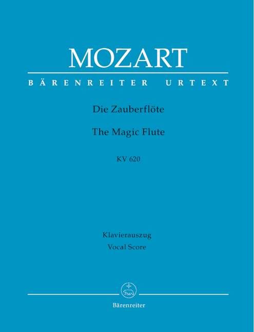 Die Zauberflote KV620 Vocal score Mozart