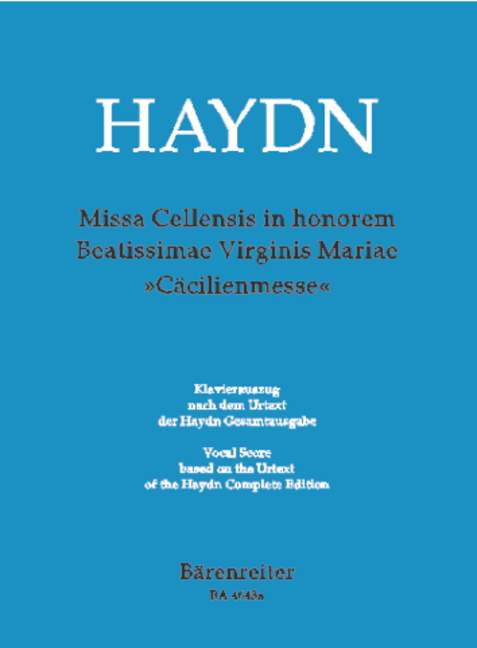 Missa Cellensis in honorem Beatissimae Virginis Mariae Hob.X