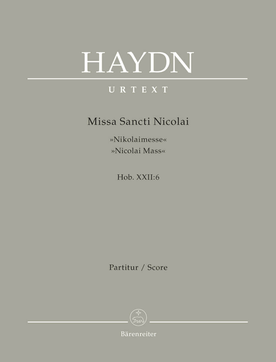 Missa Sancti Nicolai Hob.XXII:6 'Nicolai Mass'