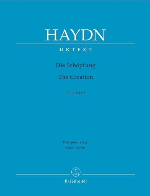 Die Schopfung (The Creation) Hob.XXI:2.vocal score .Haydn