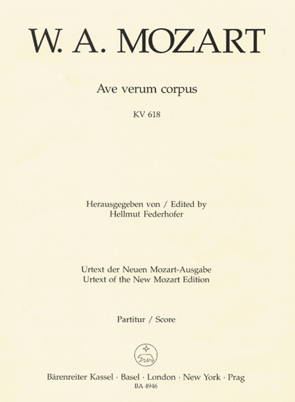 Ave verum corpus KV618
