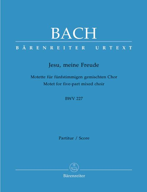 Jesu, meine Freude BWV227 Coral