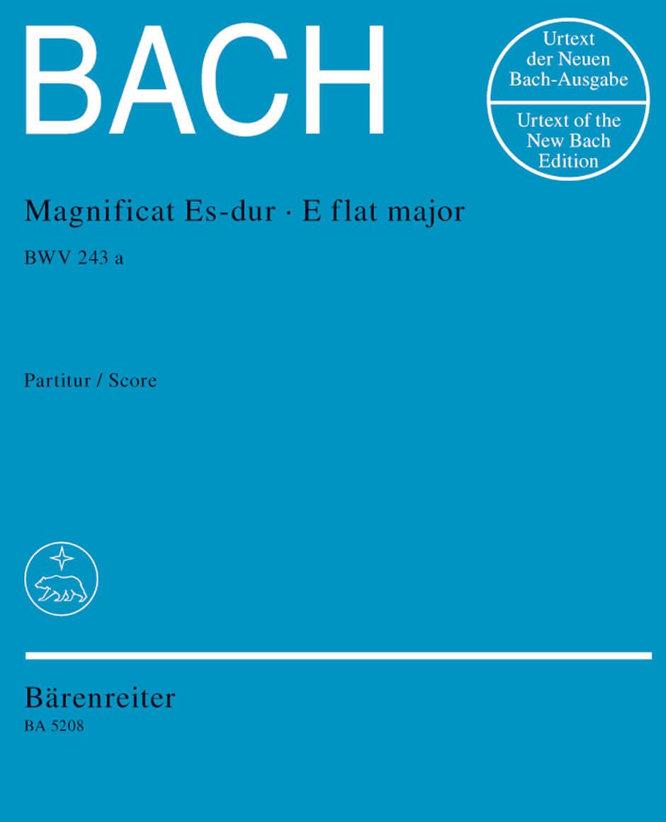 Magnificat E flat major BWV243a