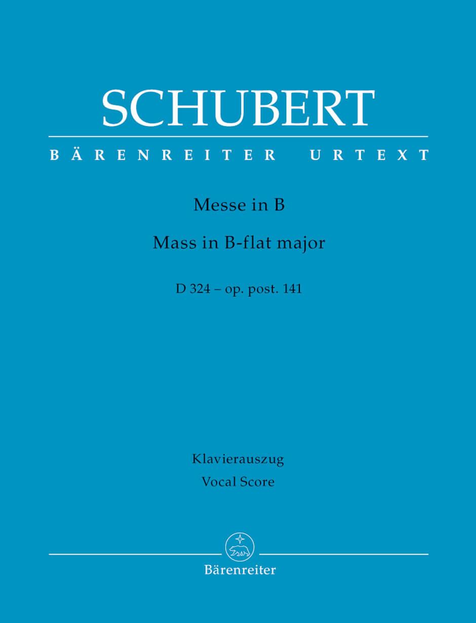 Missa B flat major Op.post.141 D324.