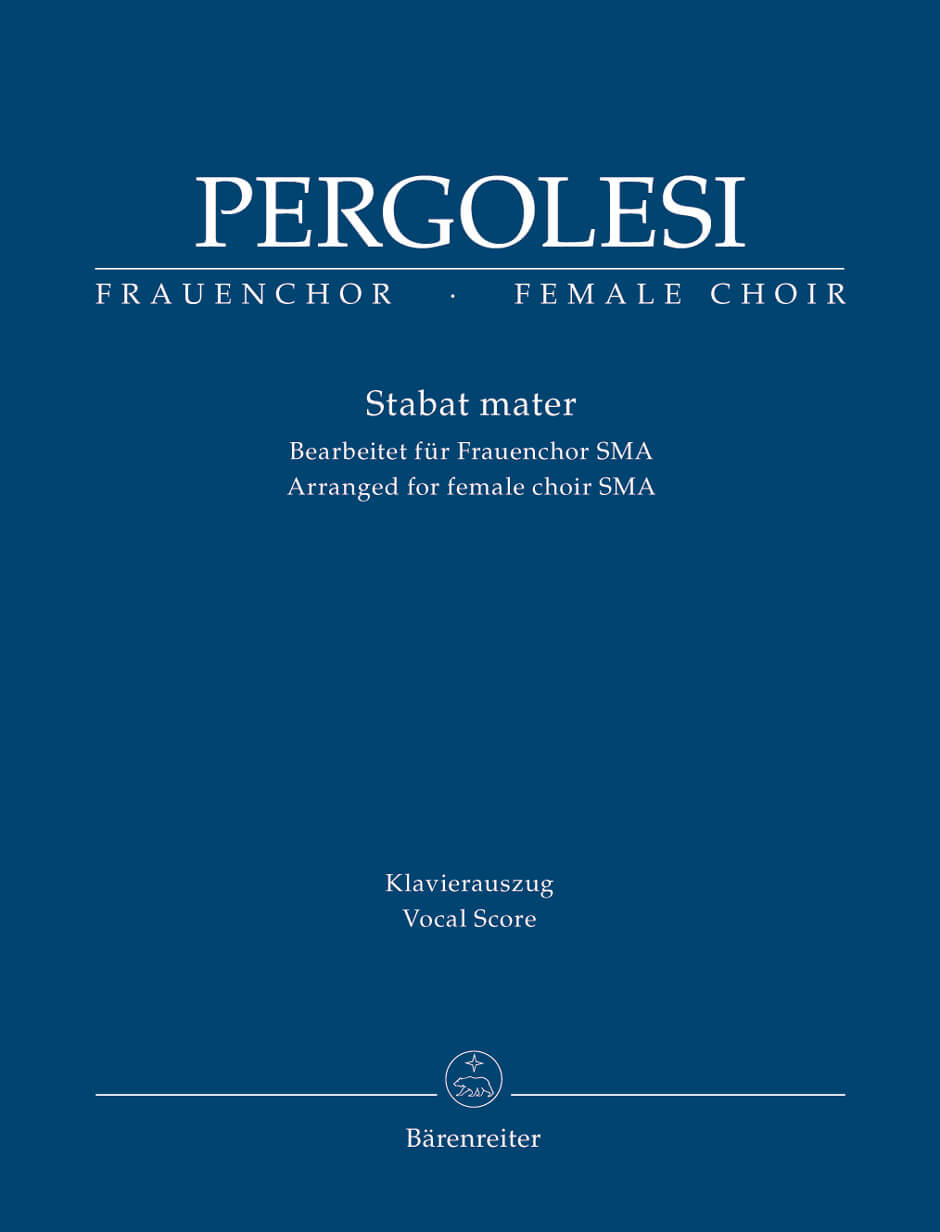 Stabat mater (Arranged for female choir (SMA)).