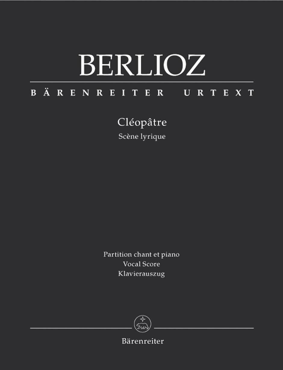 Cleopâtre Hol 36.Vocal Score .Berlioz