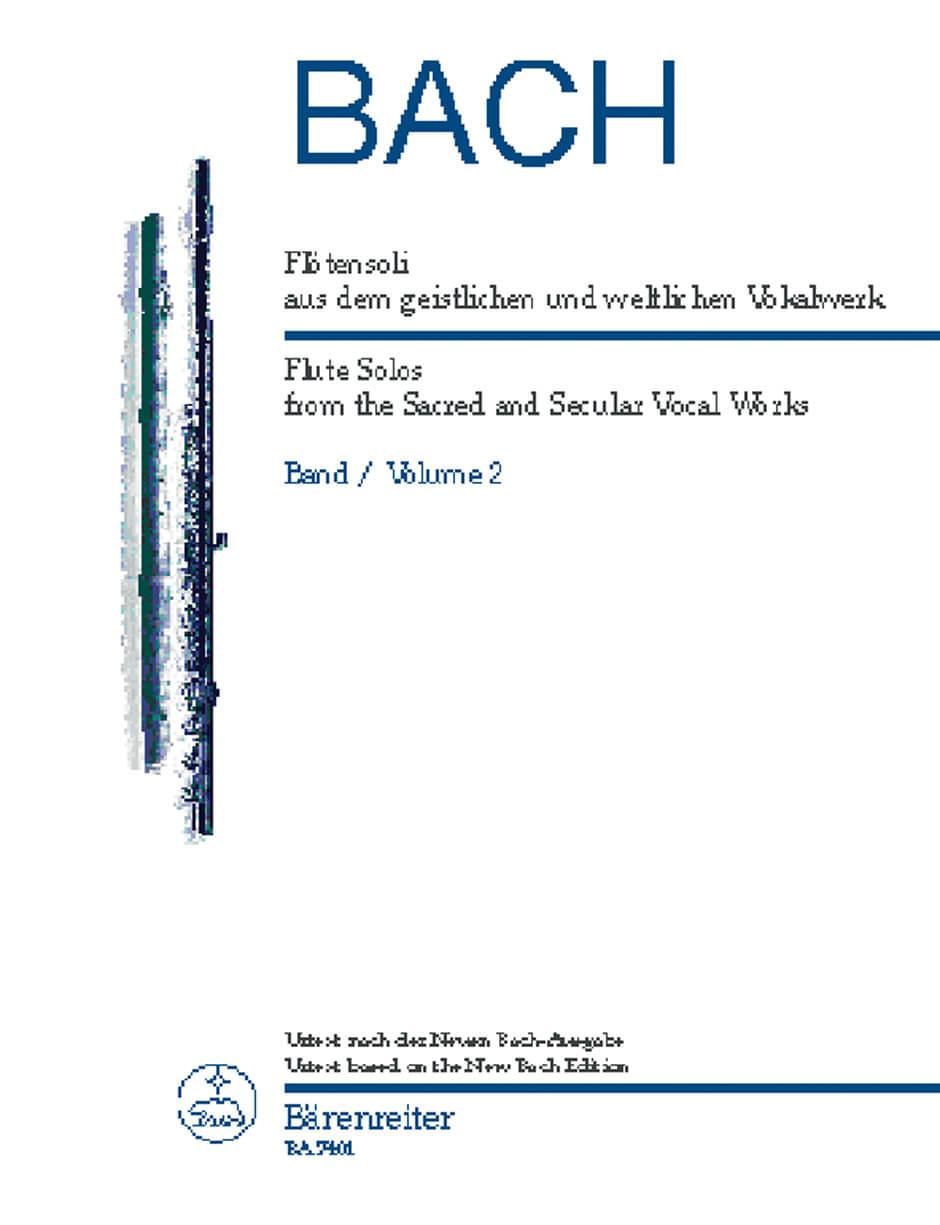 Flotensoli aus dem geistlichen und weltlichen Vokalwerk.