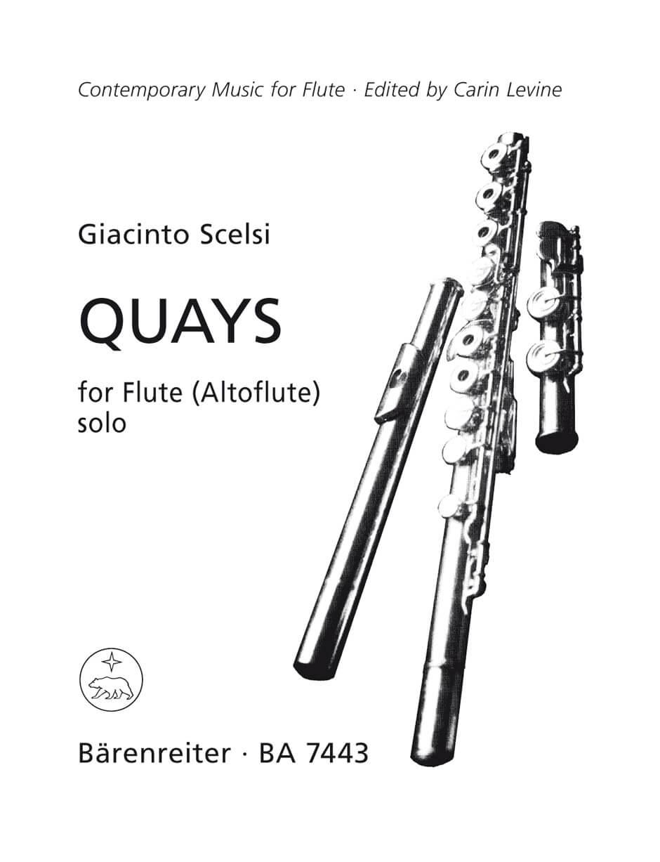 Quays for Solo Flute (Treble Recorder)