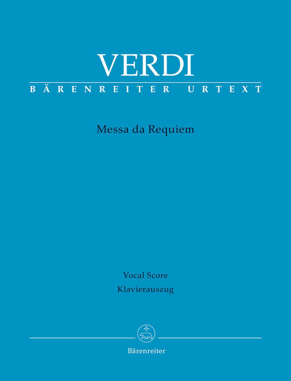 Messa da Requiem vocal score Verdi
