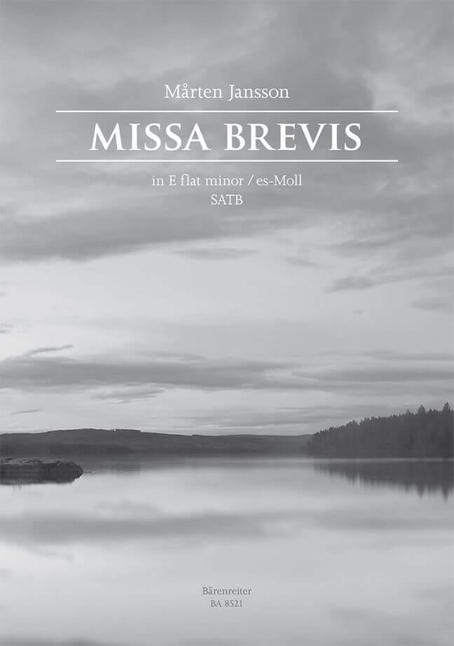 Missa brevis E-flat minor Coral