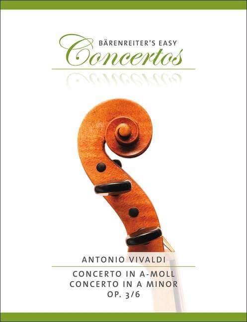 Concerto a minor Op.3/6. Reducción Violín y piano  . Vivaldi