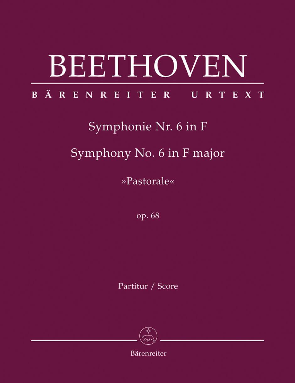 Symphony No. 6 F major Op.68 'Pastorale'Full score
