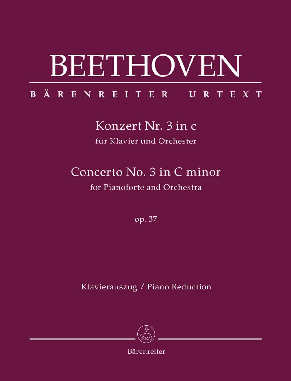 Concerto piano -Orchestra Nr. 3 C minor Op.37. Reduc.Beethoven