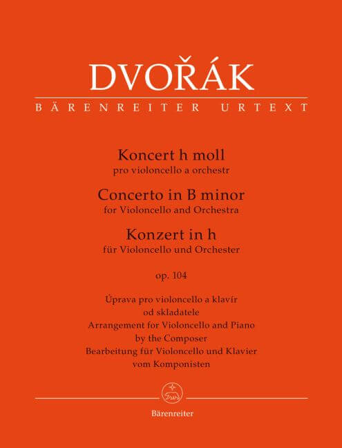 Koncert for violoncello - Piano reduc.  h-Moll op. 104 Dvorak