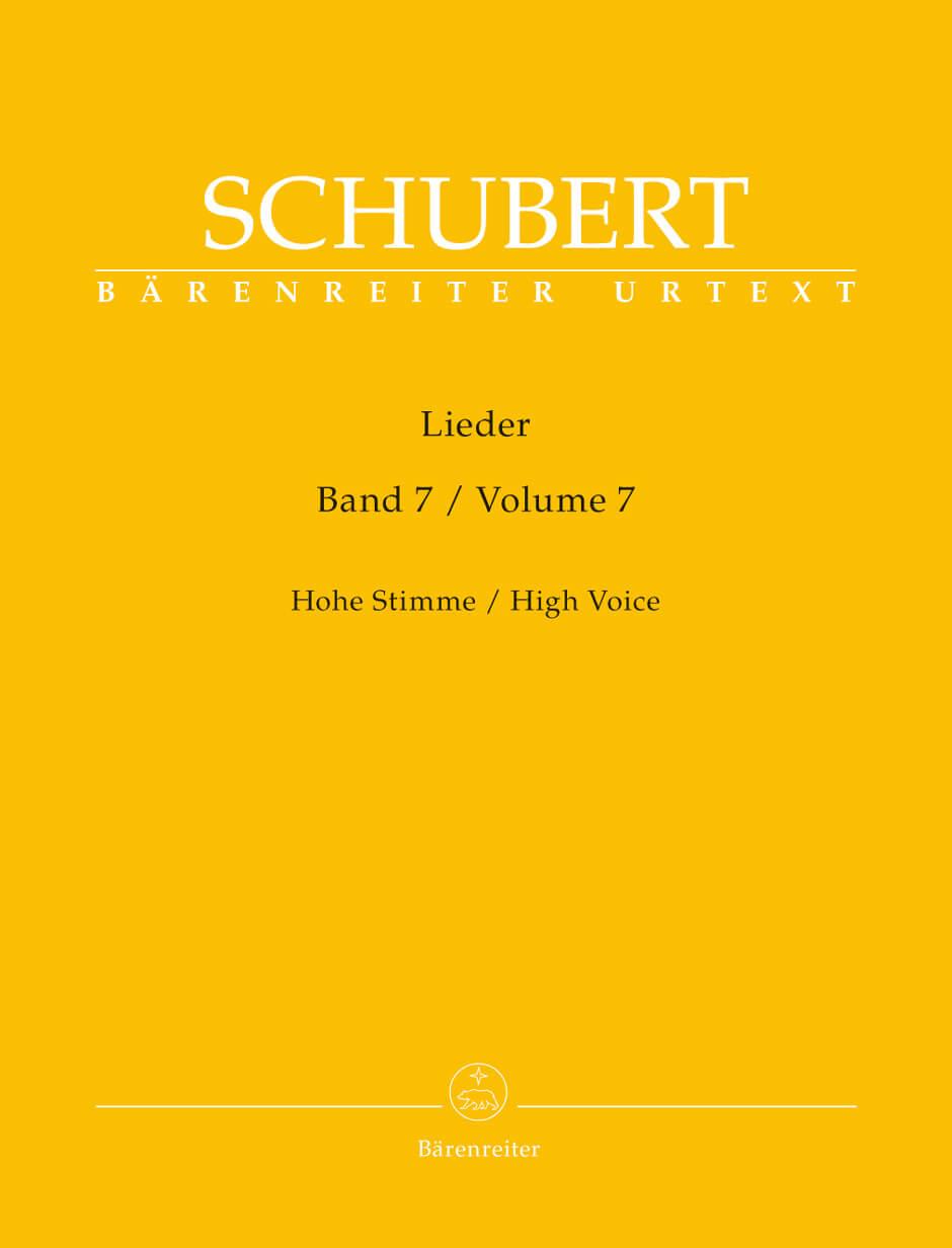Lieder, Volume 7 (High Voice)