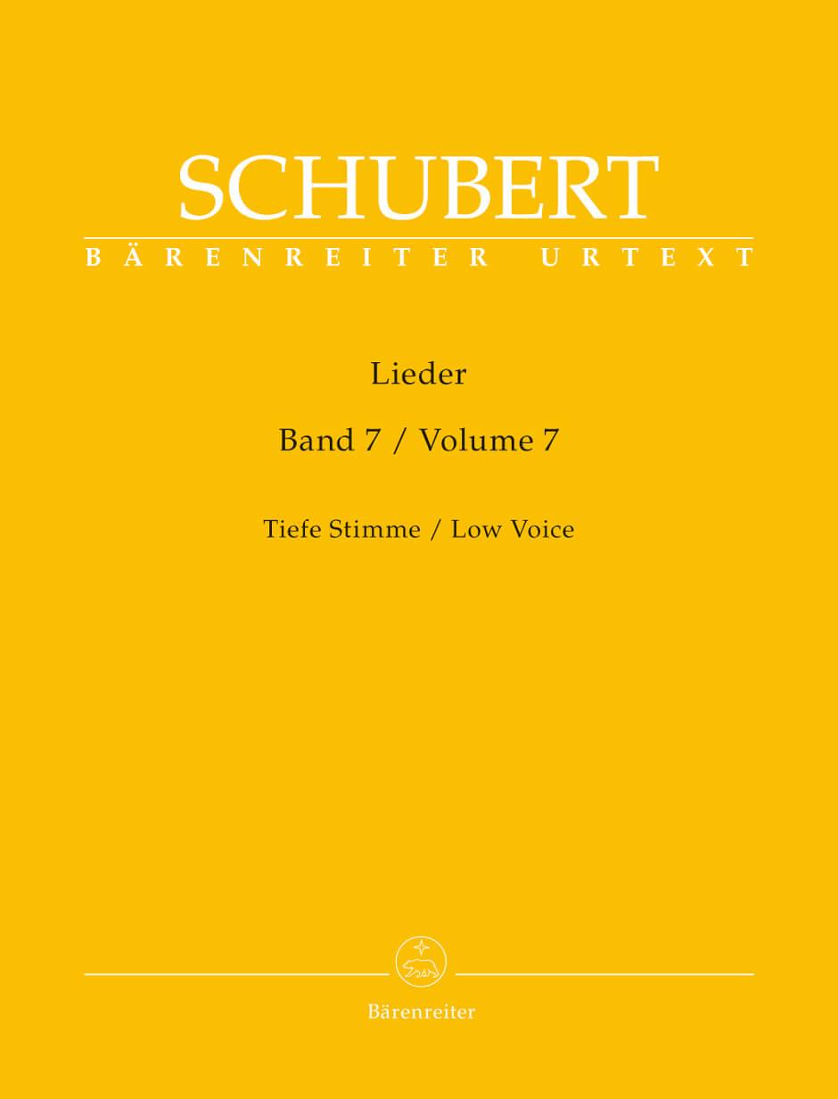 Lieder, Volume 7 (Low Voice)