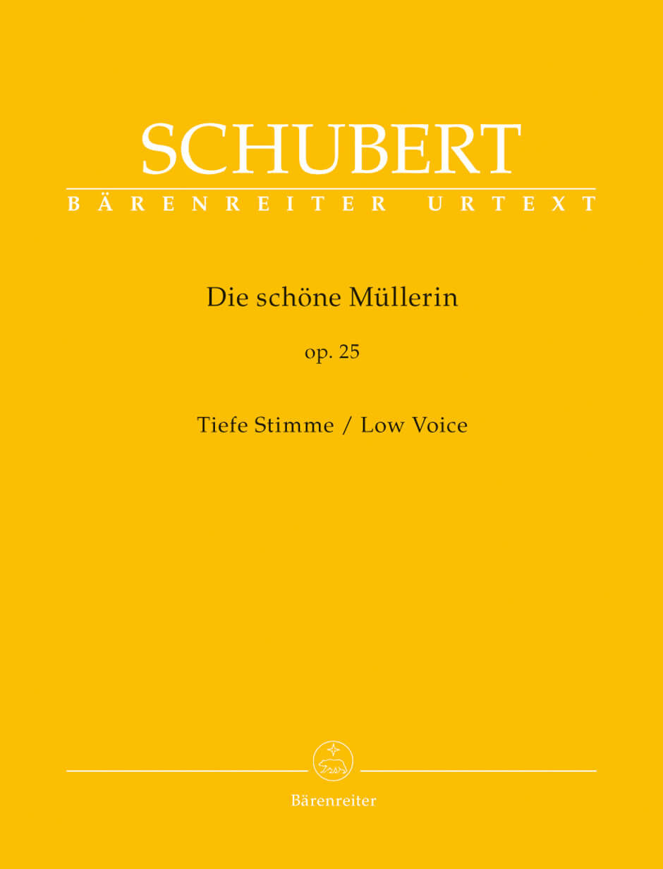 Die schone Mullerin Op.25 D795