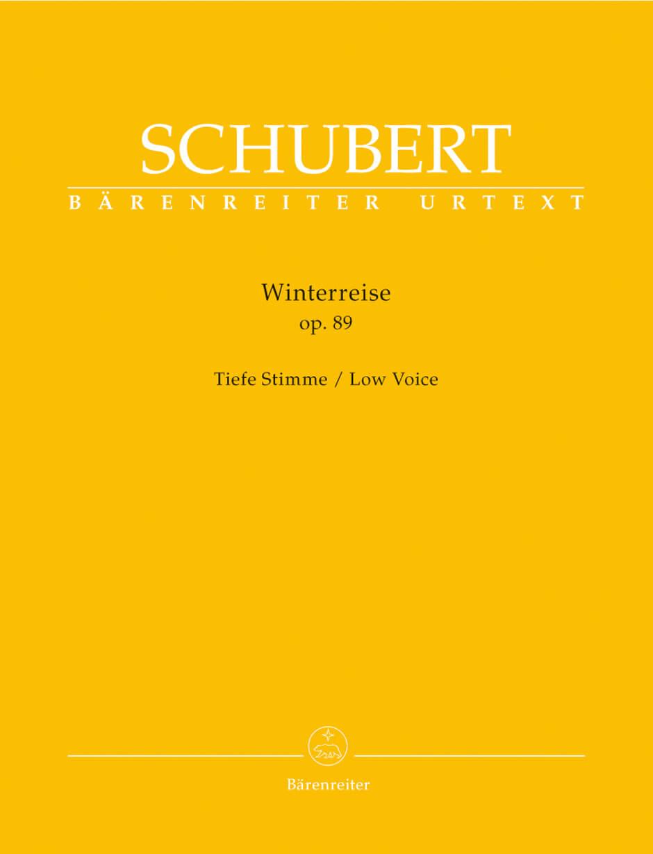 Winterreise Op.89 D911 low voice .Schumann
