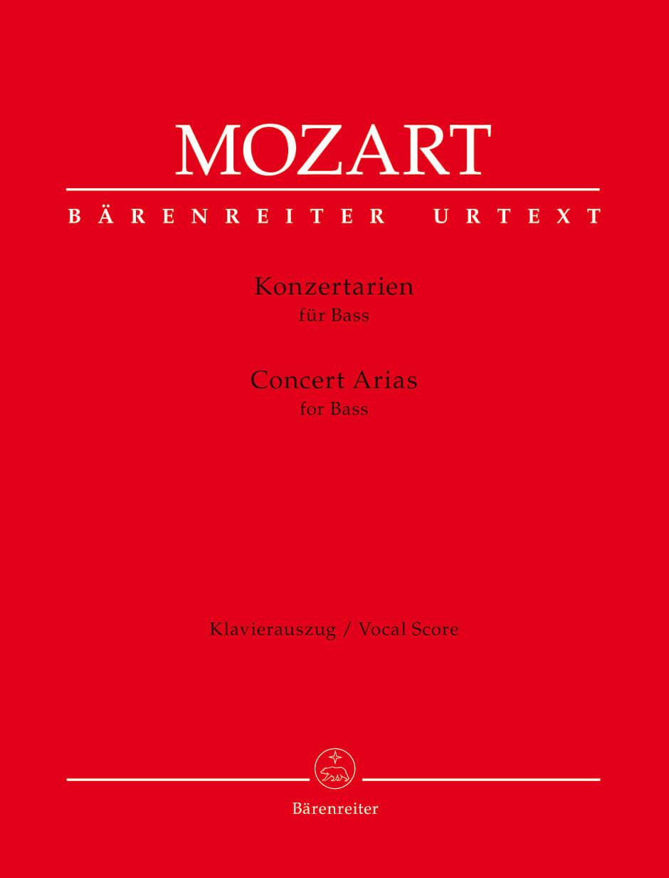 Concert Arias for Bass
